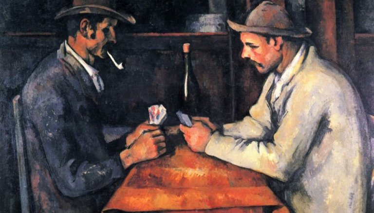 Painting of The Card Players – Paul Cezanne is The Most Expensive Painting In the World