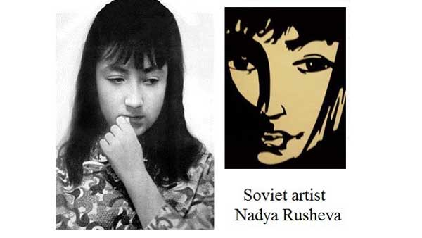 Nadya Rusheva, Young and Talented Soviet Artist Who Died at Age 17