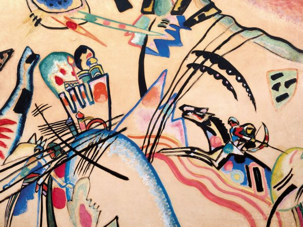 10 Famous Paintings by Wassily Kandinsky from Russia